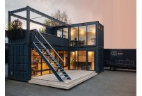 Container Homestay 20 Feet Chồng Tầng
