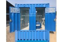 Container Toilet 10 Feet, Bể Phốt Liền Khối
