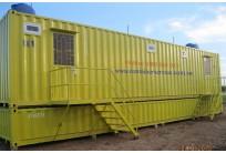 Container Toilet 40 Feet Lắp Đặt Bể Phốt