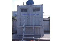 Container Toilet 10 Feet, Lắp Đặt Bể Phốt Rời