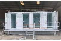 Container Toilet 20 Feet, Bể Phốt Liền Khối