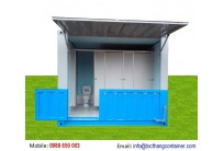 Container 10 Feet Toilet
