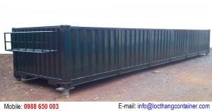 Container Open Top Half Height 40 Feet