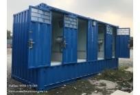 Container Toilet 20 Feet Bể Phốt Liền Khối