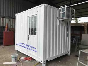 Container Văn Phòng 10 Feet Dùng Cho Dàn Khoan Dầu Khí