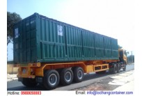 Container Open Top 40 Feet Mở Bửng Bên Hông