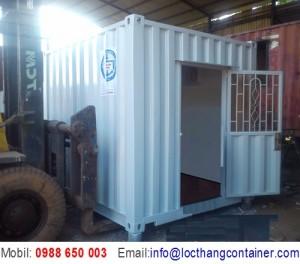 Container 10 Feet Làm Trạm Điện
