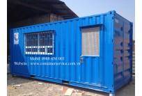 Container Văn Phòng 20 Feet - Trạm Soát Vé