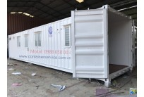 Container Văn Phòng 40 Feet Toilet - Cửa Nguyên Thủy Của Container