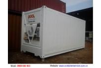 Container Lạnh 20 Feet Sơm Mới
