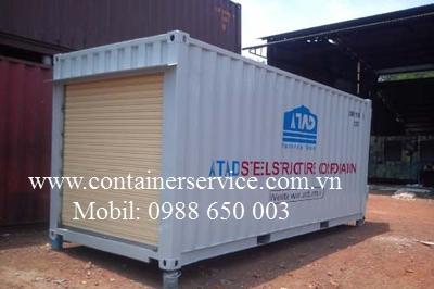 Container 20 Feet Chứa Máy Cán Thép